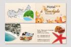 Biglietto da visita Hotel la Conchiglia