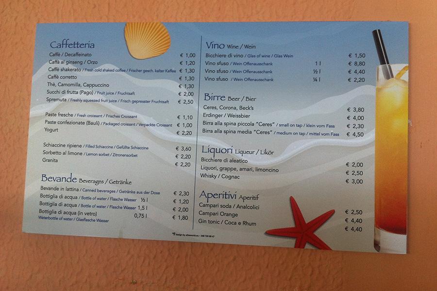 pannello_menu_hotel_la_conchiglia