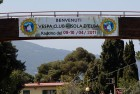 Striscione Vespa Club Isola d'Elba