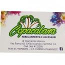 Biglietto da visita Copacabana