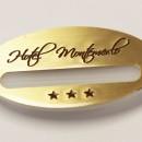 Portanome magnetico Hotel Montemerlo