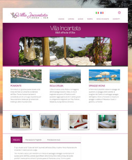 Realizzazione sito Villa Incantata