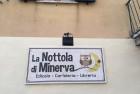 Insegna La Nottola di Minerva