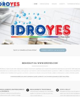 Realizzazione sito IdroYes