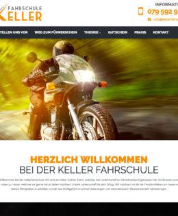 Realizzazione sito Keller Farschule