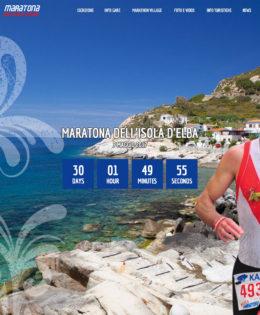 Realizzazione sito Maratona dell'Isola d'Elba