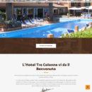 Realizzazione sito Hotel Tre Colonne