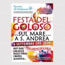 Manifesto Festa del Goloso Associazione il Libeccio