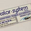 Adesivo personalizzato Calor System