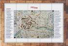 Mattonella a Mosaico con Cartina personalizzata