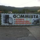 Striscione Gommista