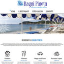 Realizzazione sito Bagni Pineta